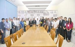 Reunião com empresários de Restaurantes e o Prefeito Valter Suman