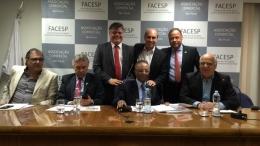 Eleição na federação das associações comerciais do estado de São Paulo