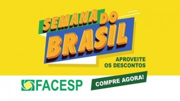 Semana do Brasil deve incrementar vendas do comércio em setembro