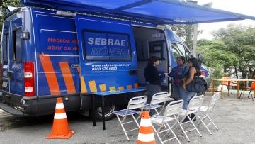 Posto Móvel do Sebrae faz plantão na Praça 14 Bis esta semana (de 08 a 12/01)