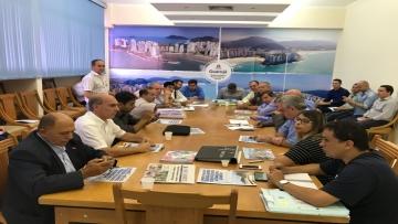Acordo sela construção do futuro batalhão da Polícia Militar em Guarujá