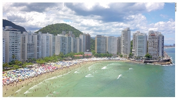 Guarujá vence prêmio Top Destinos